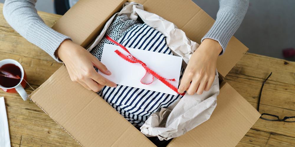 Подготовка посылки для отправки