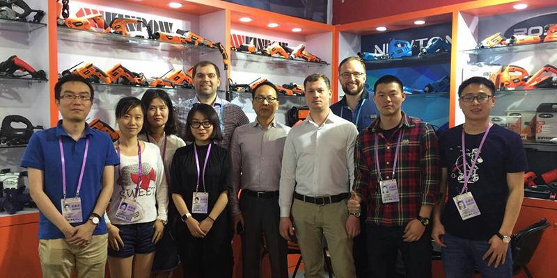 Фото с китайскими партнерами