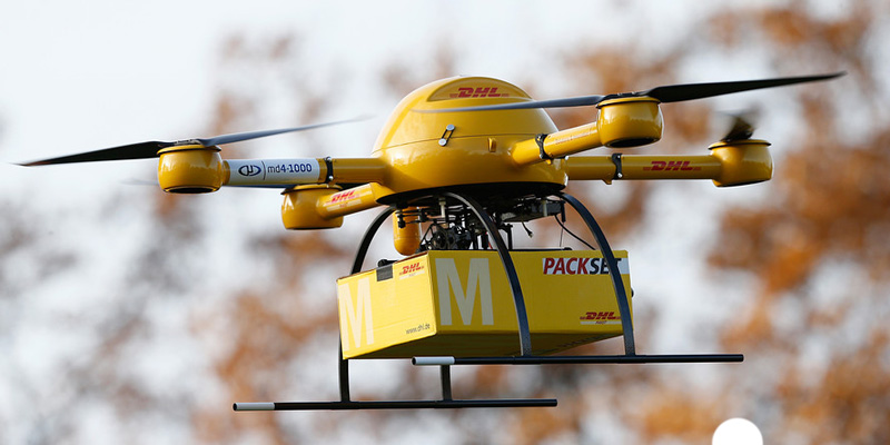 Доставка товара дроном