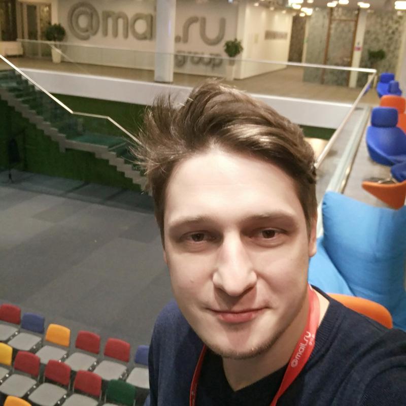 Выездное занятие в офисе Mail.ru